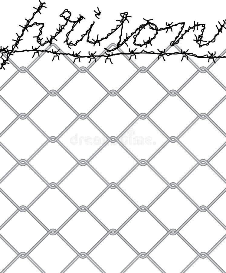 тюрьма иллюстрация штока