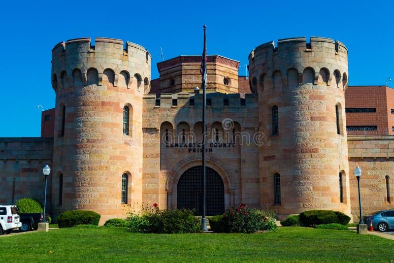 Тюрьма Lancaster County стоковое изображение