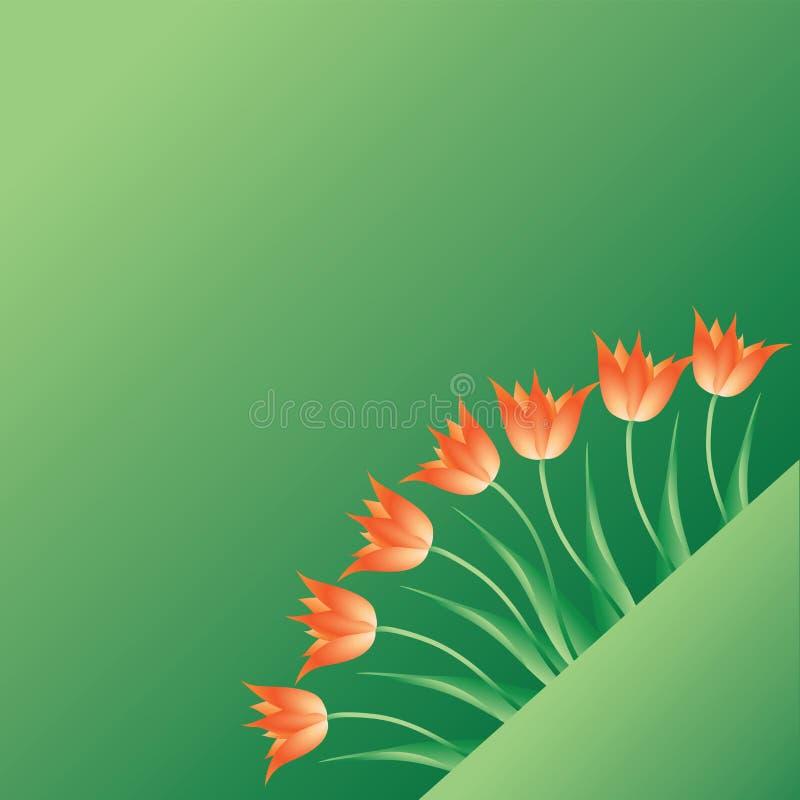 Тюльпаны Посыльные весны иллюстрация вектора