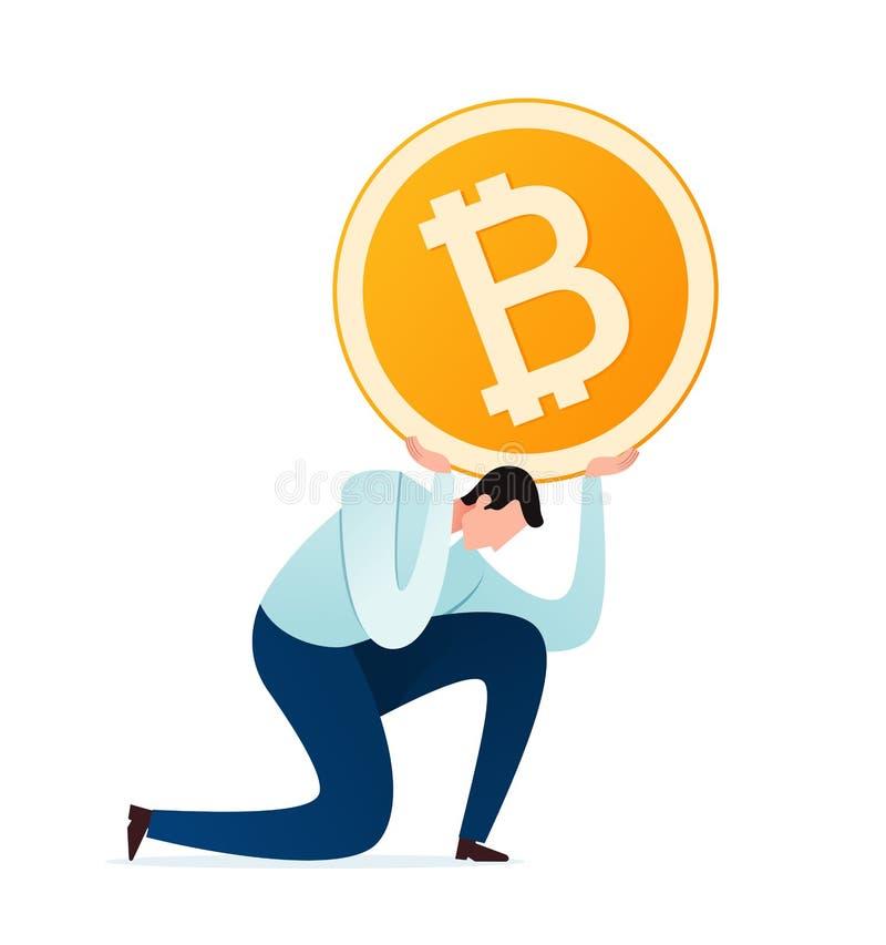 Тягота валюты цифров бесплатная иллюстрация