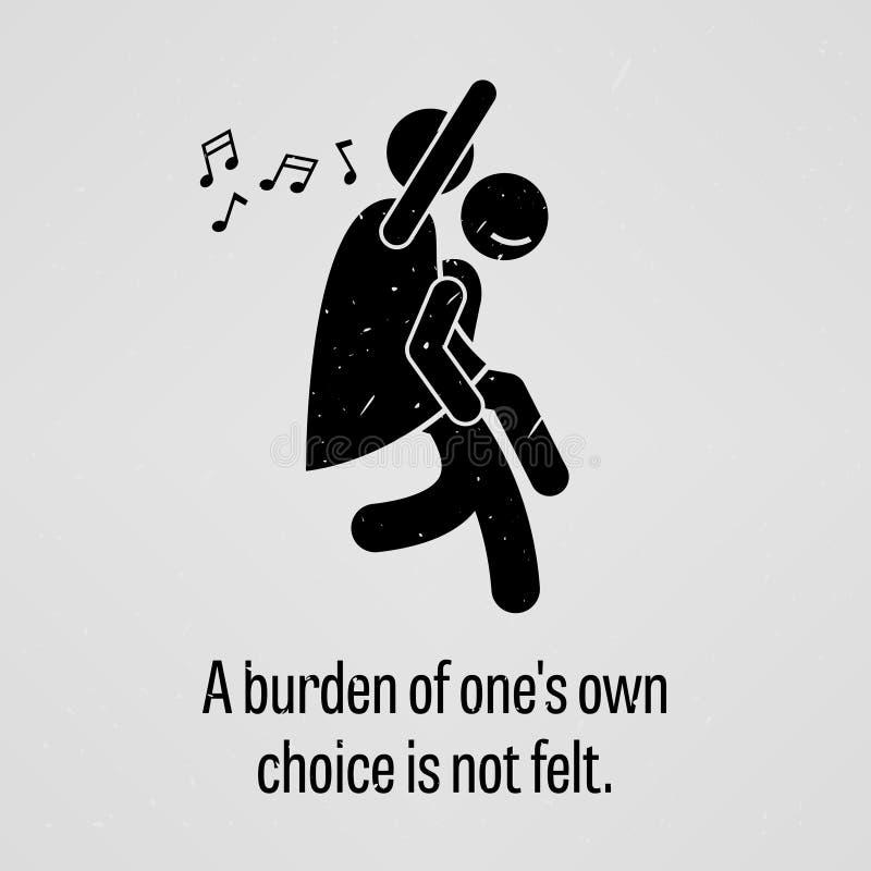 Тягота одного иметь выбор не чувствуется бесплатная иллюстрация