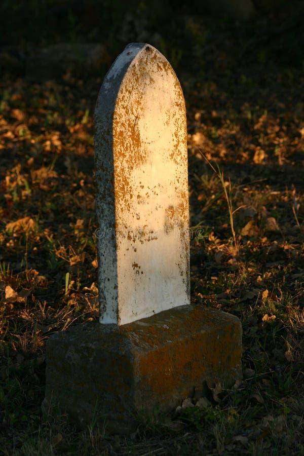тягчайший headstone стоковое изображение