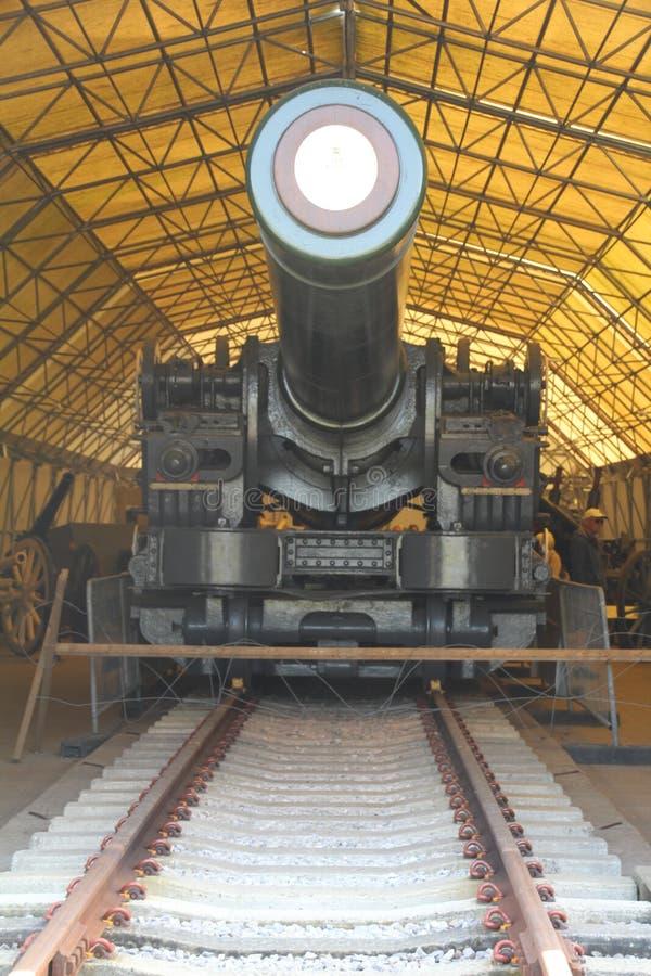 Тяжелая артиллерия Второй Мировой Войны стоковая фотография