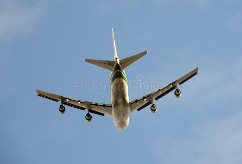 тяжелый реактивный самолет груза стоковые фото