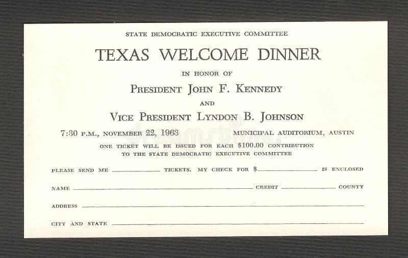убийство f Жоюн Кеннеды стоковые фото