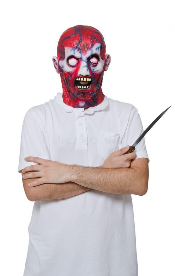 Убийца с маской стоковая фотография rf