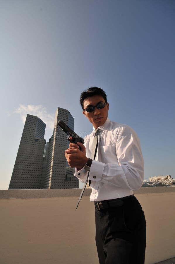 убийца 35 агентов стоковые фото