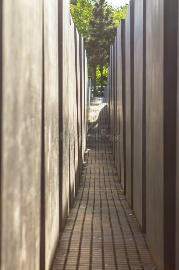 убитый мемориал еврейств berlin европы Германии к стоковое фото