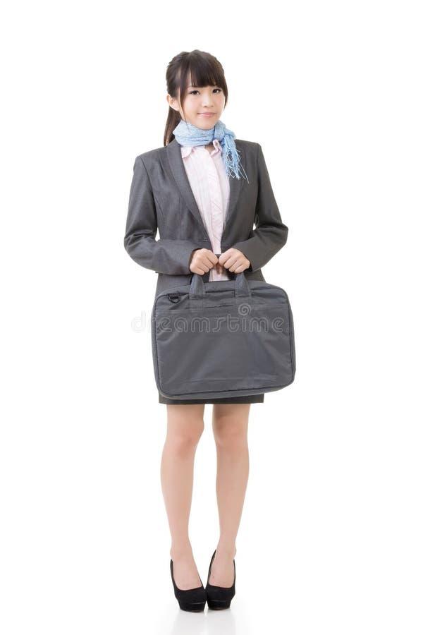 Download Уверенно азиатская коммерсантка Стоковое Изображение - изображение насчитывающей одно, bodysuits: 37925379