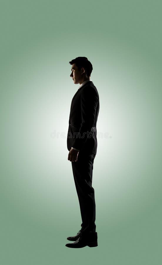Уверенно бизнесмен азиата стоковые изображения rf
