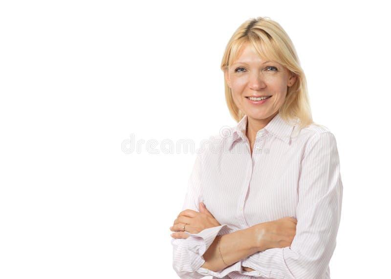 уверенно женщина стоковое изображение