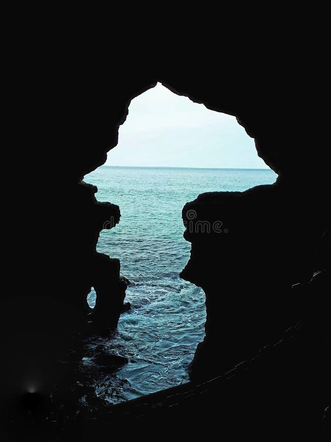 Увиденный океан стоковые фотографии rf