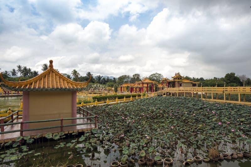 Увиденный Hock Yeen, висок Конфуция, Chemor, Малайзия стоковая фотография