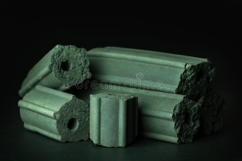 Углерод активирован Бамбуковый уголь стоковое изображение rf