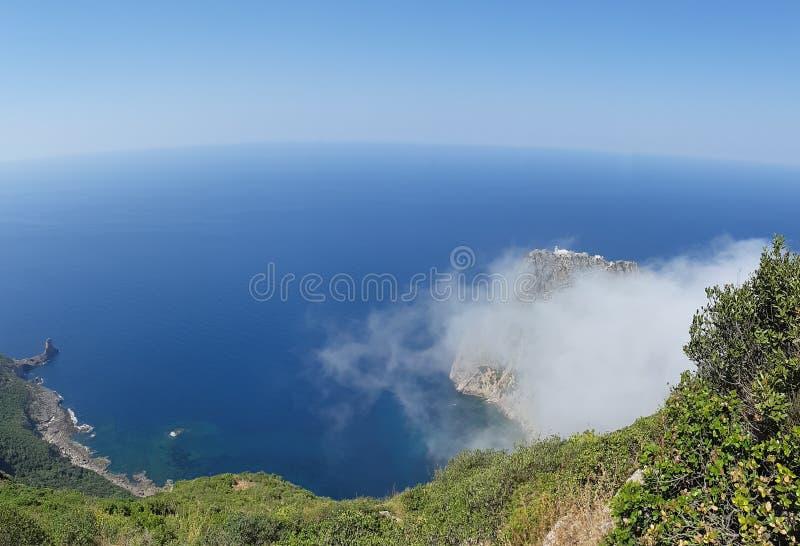 Углерод крышки - Алжир стоковая фотография