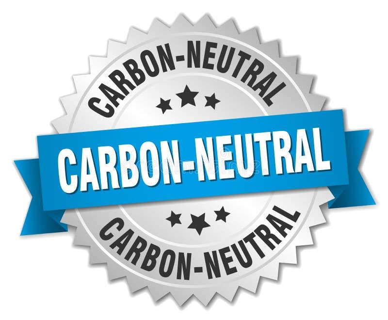 углерод-нейтральный иллюстрация штока