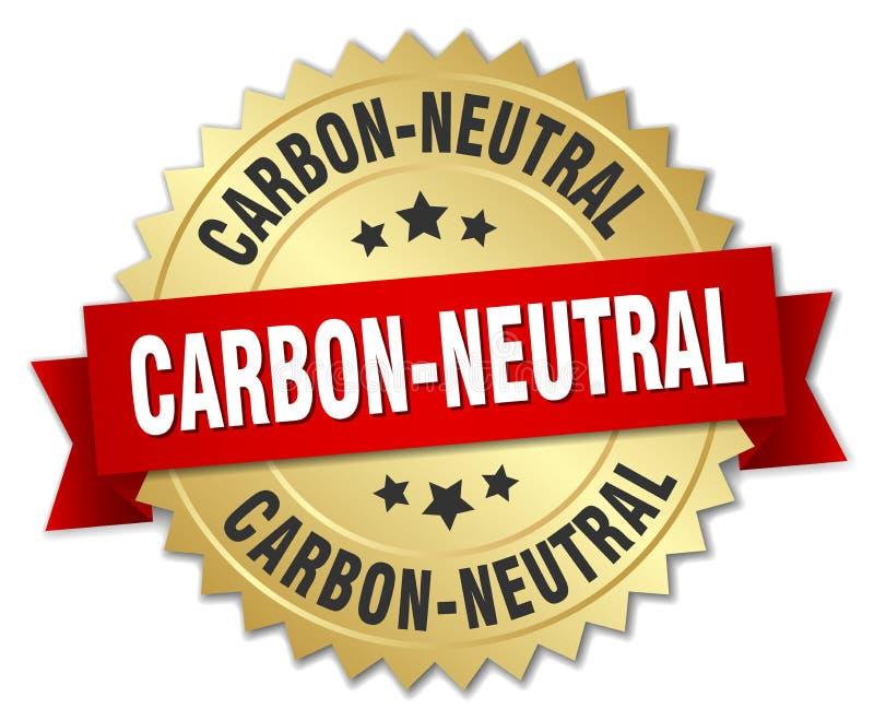 углерод-нейтральный иллюстрация вектора
