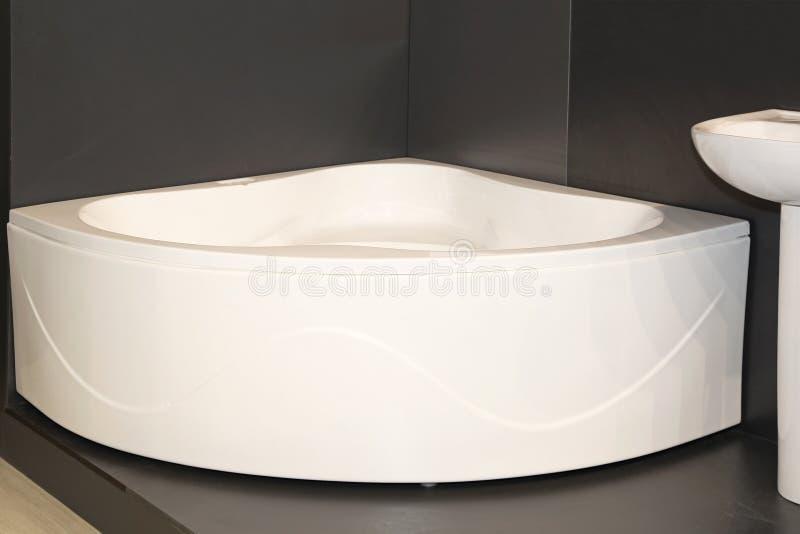 Угловая ванна стоковая фотография