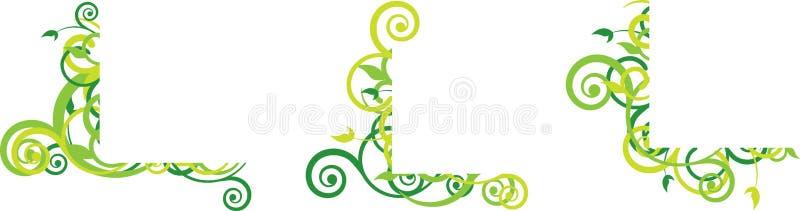 угловойое флористическое иллюстрация штока