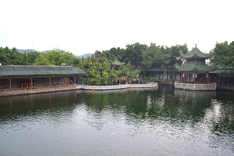Углы китайских классических садов стоковое изображение rf