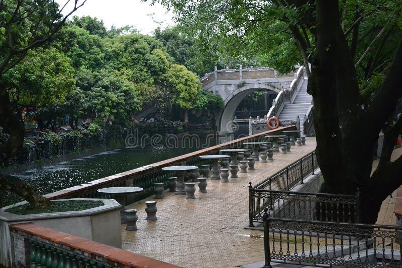 Углы китайских классических садов стоковое фото