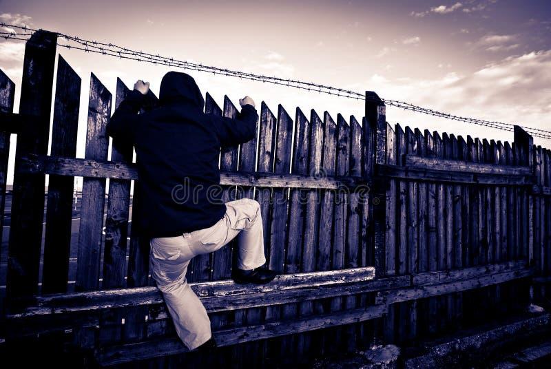 уголовный террорист стоковое фото