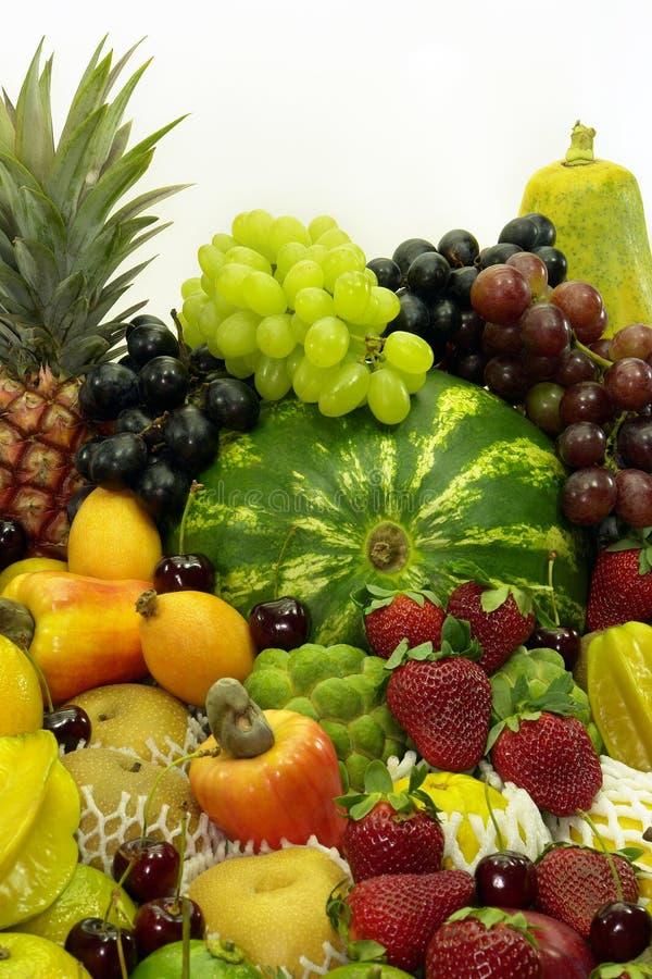 угол fruits вертикаль стоковые фотографии rf