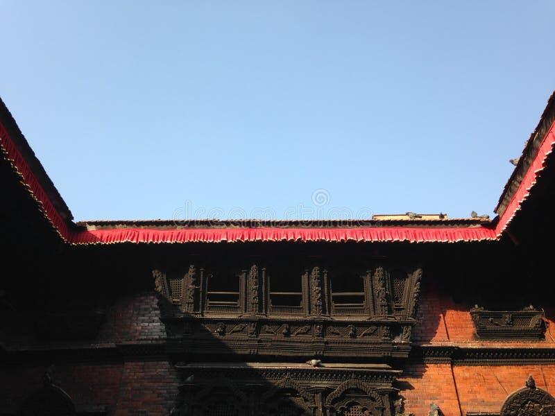 Угол в Катманду стоковые изображения
