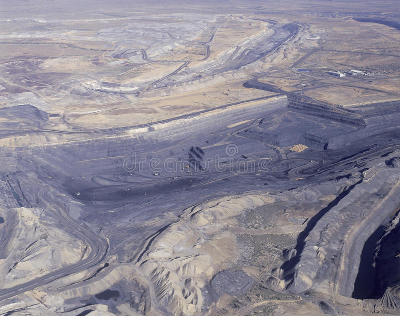 Угольная шахта заводи Leigh стоковая фотография