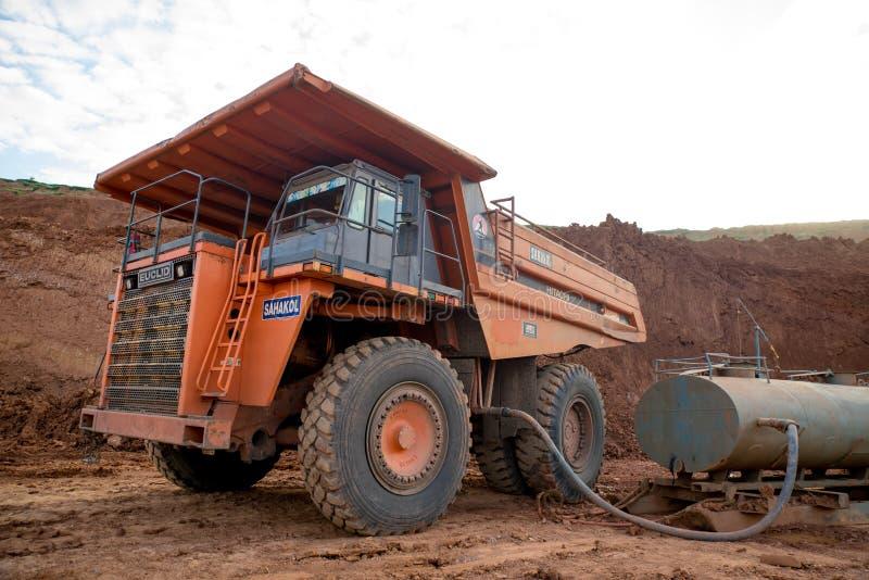 Угольная шахта транспорта стоковое фото rf
