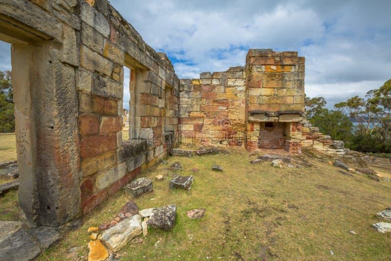 Угольные шахты историческое место, Тасмания стоковая фотография