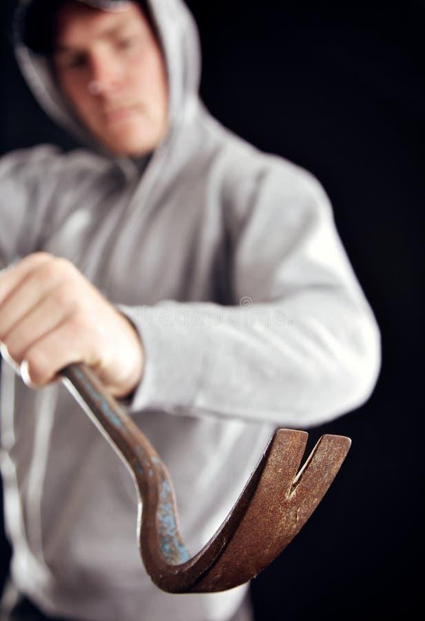 Угроза к вашей домашней обеспеченности стоковое изображение