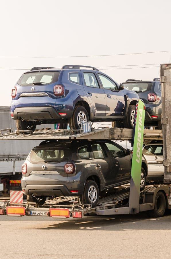 Удаление сломленных автомобилей стоковое фото rf