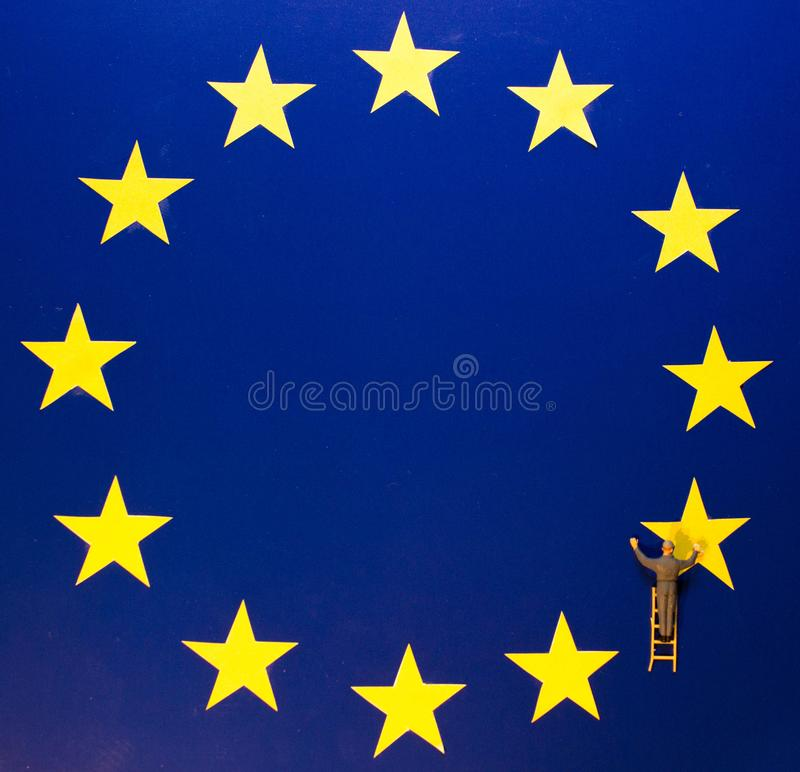 Удаление Brexit стоковое изображение