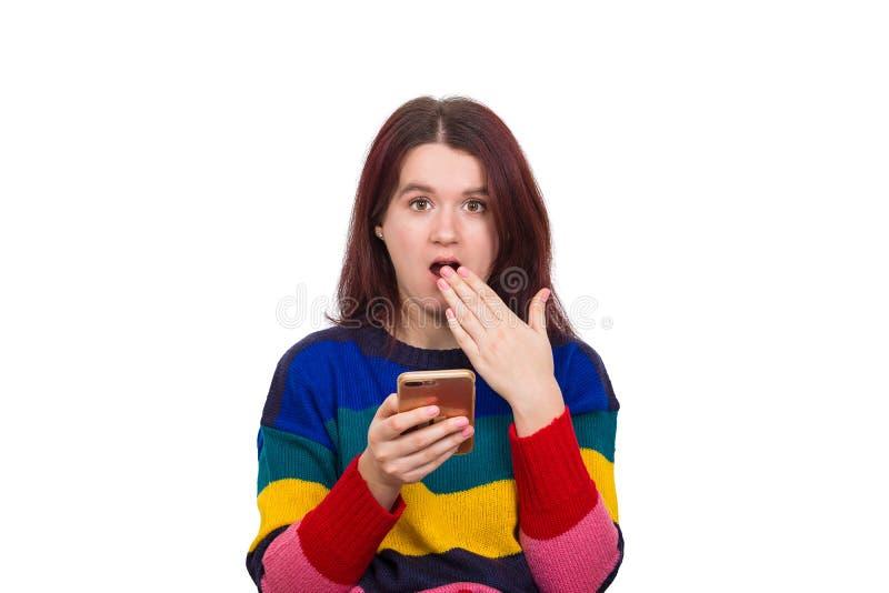 Удар рта открытый стоковая фотография rf