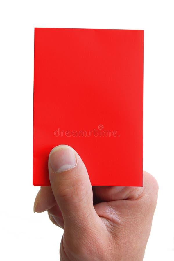 удерживание руки карточки стоковые изображения