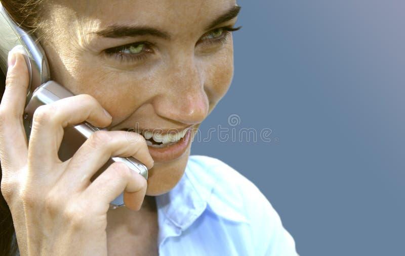 удостоверение личности звонящего по телефону Стоковые Изображения RF