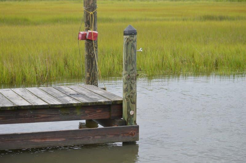 Удя и crabbing пристани стоковое изображение rf