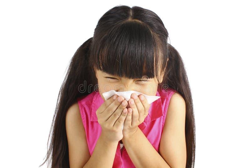 дует девушка ее маленький нос стоковое фото rf