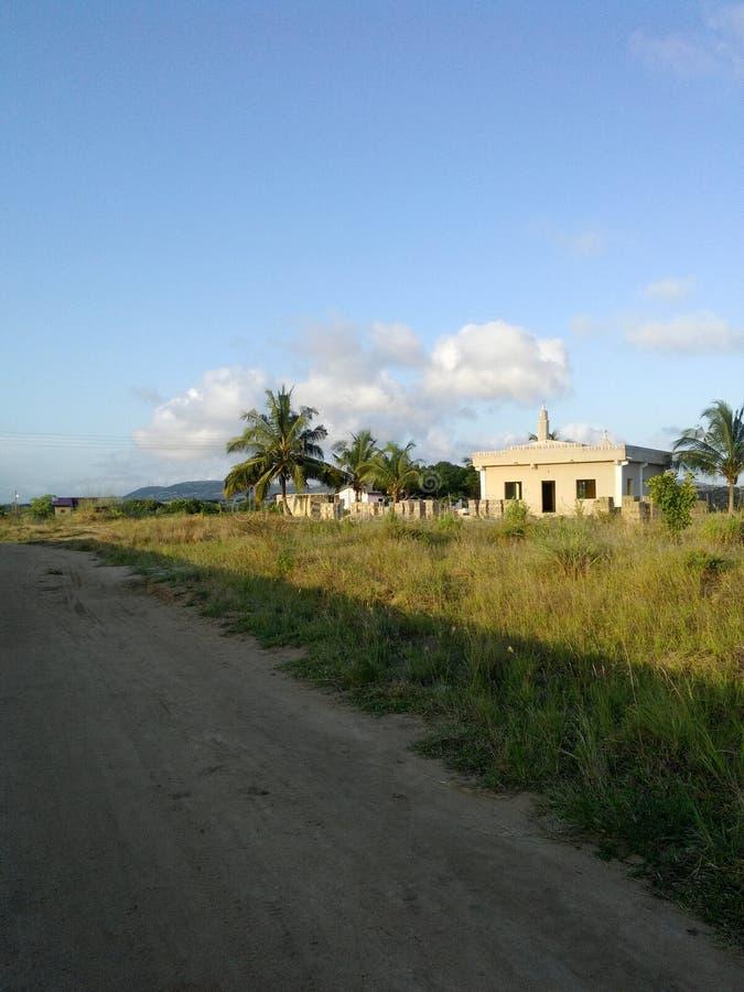 Уединённая мечеть стоковые изображения