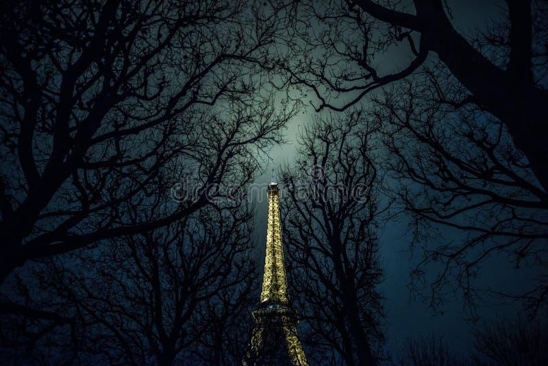 Ужас Парижа стоковое фото rf