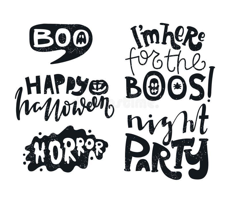ужас boob Отправьте СМС знамя, предпосылка на ноча партии хеллоуина halloween счастливый бесплатная иллюстрация