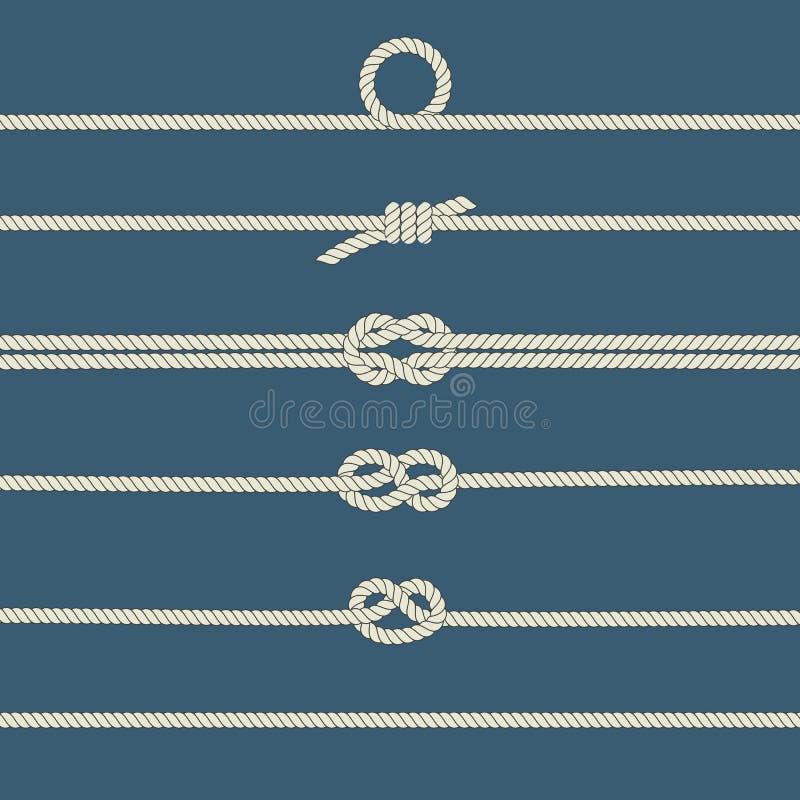 Узлы веревочки бесплатная иллюстрация