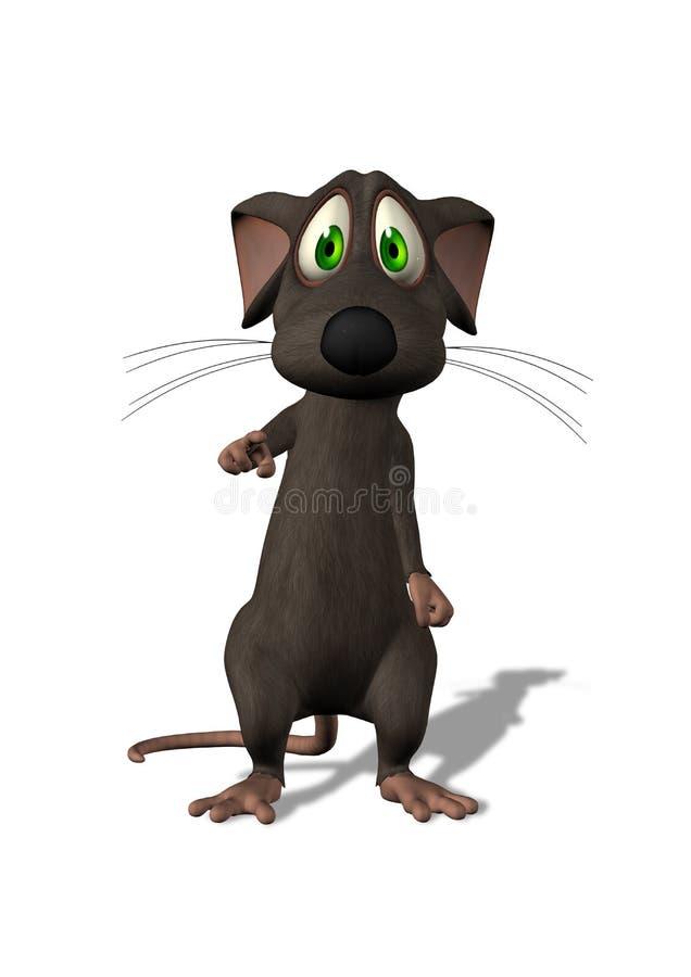 указывать мыши трепетный бесплатная иллюстрация