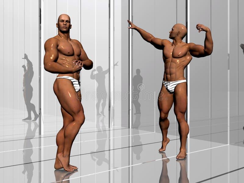 уклад жизни здания тела иллюстрация штока
