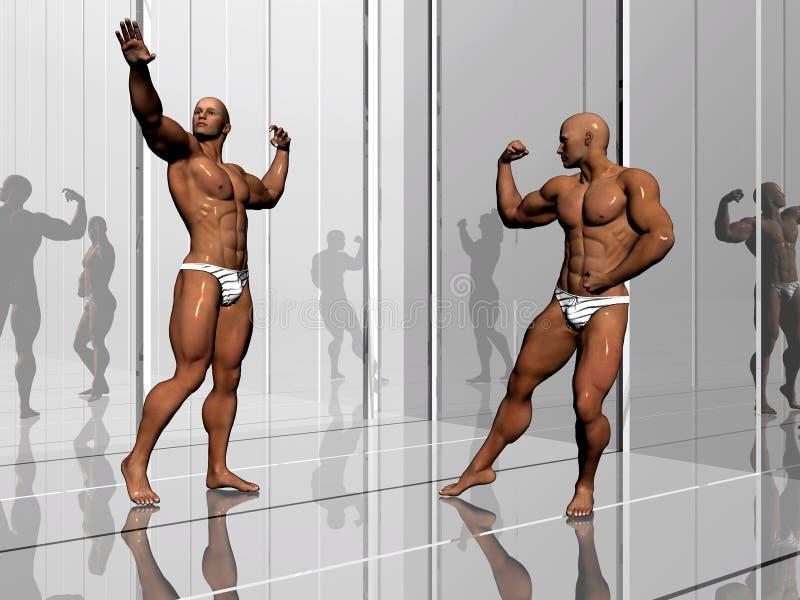 уклад жизни здания тела иллюстрация вектора