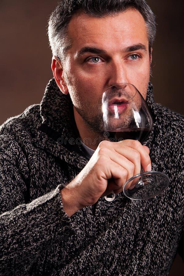 укомплектуйте личным составом вино стоковые фото