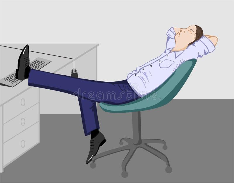 укомплектуйте личным составом офис ослабляя бесплатная иллюстрация