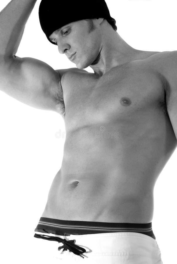 укомплектуйте личным составом сексуальное стоковое изображение rf