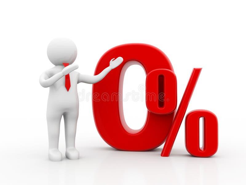 Укомплектуйте личным составом указывать к zero проценту, 0 скидкам процента 3d представляют бесплатная иллюстрация